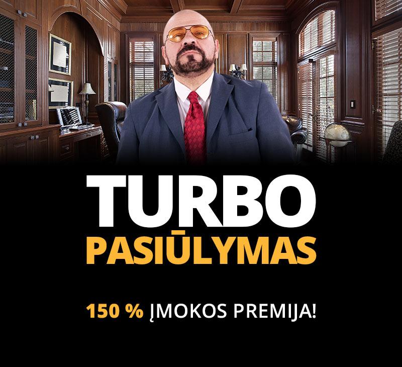 Turbo  pasiūlymas